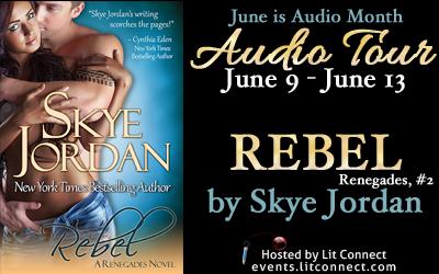 Audio Tour Badge-Rebel by Skye Jordan